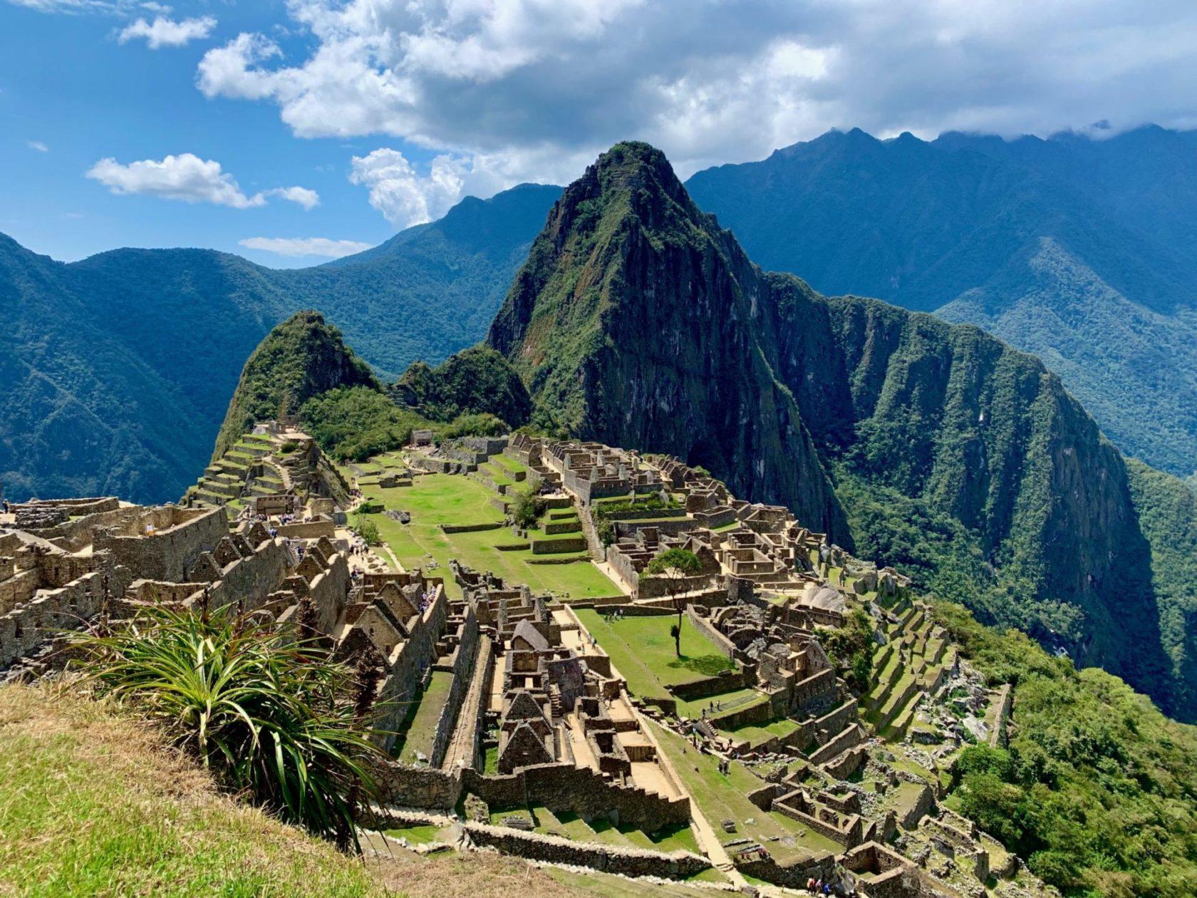 You need muscular strength to hike Machu Picchu