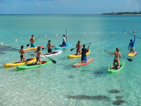 paddle boarding requires muscular strength