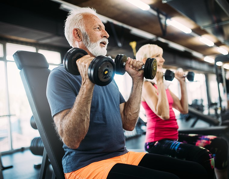strength training program for over 50